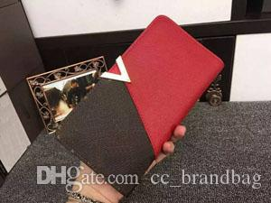 KIMONO Wallet high quality cowhide well-known Women purse long Coin Pocket women Purse day clutch handbags