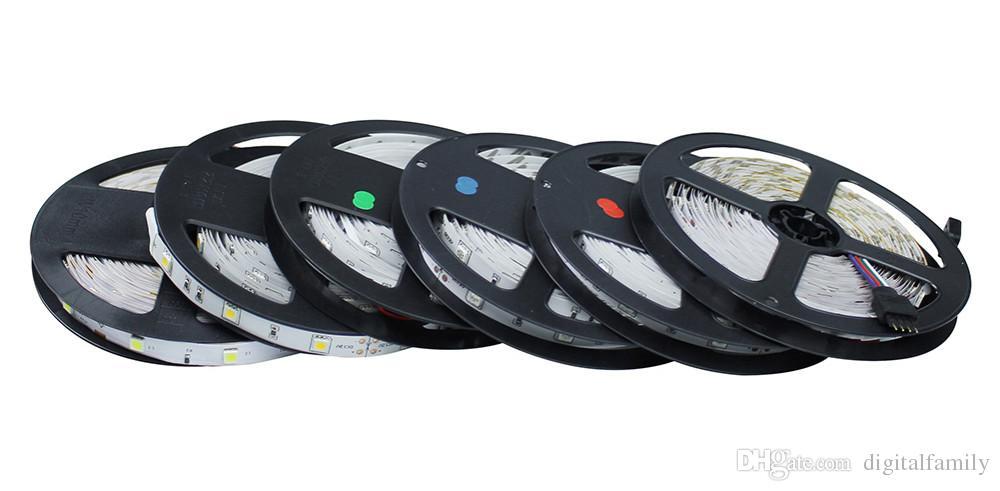 500 متر الأزرق LED الشريط أضواء 3528/5050/5630 SMD RGB / أبيض / دافئ / أحمر للماء غير مقاوم للماء 300LEDS مرنة واحدة لون واحد من قبل دي إتش إل