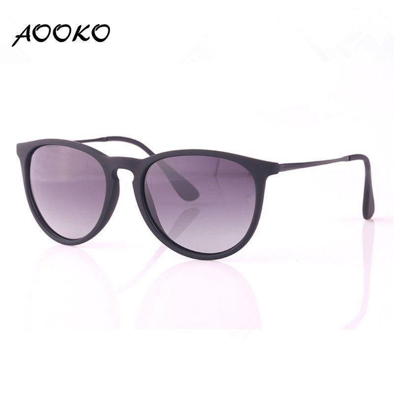 f07521b737 AOOKO Fashion Erika Fashion Erike Polarized Gradient Sunglasses Brand  Vintage Ladies Man Women Chris Sun Glasses Oculos De Sol Matte Frame Glass  Frames ...