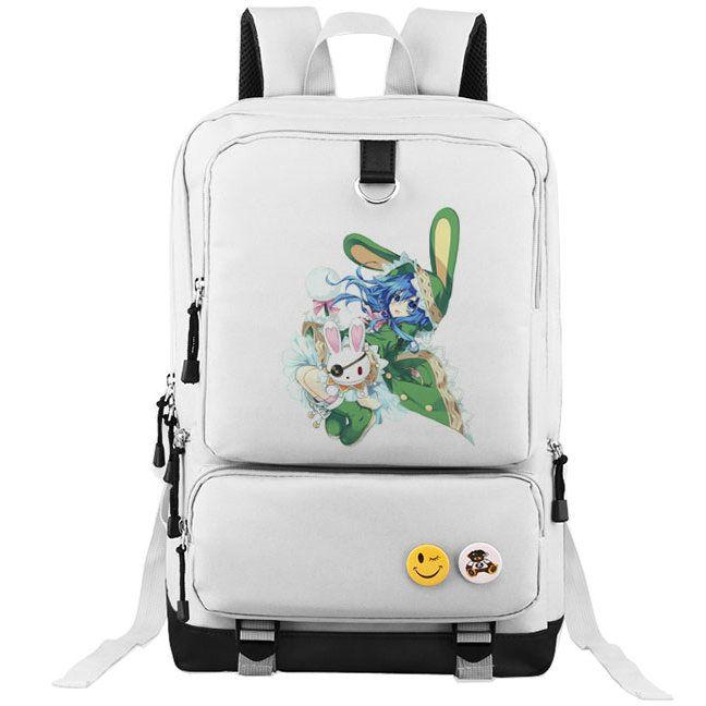 Date a Live Backpack Nice Girl School Bag Yoshino Daypack Anime Schoolbag  Outdoor Rucksack Sport Day Pack Date Backpack Date Rucksack Date Day Pack  Online ... 3d81488df5