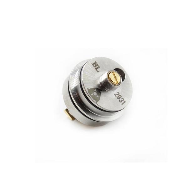 Ilustre RDA Atomizador de Goteo Ajustable 22mm Diametre con Postes de Puente Chapado en Oro Atomizador de Vape en forma de 510 cajas mods DHL Gratis