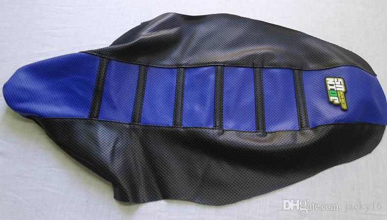 New Yamaha Ribbed Seat Cover Black with White Ribs WR450F 2012-2015