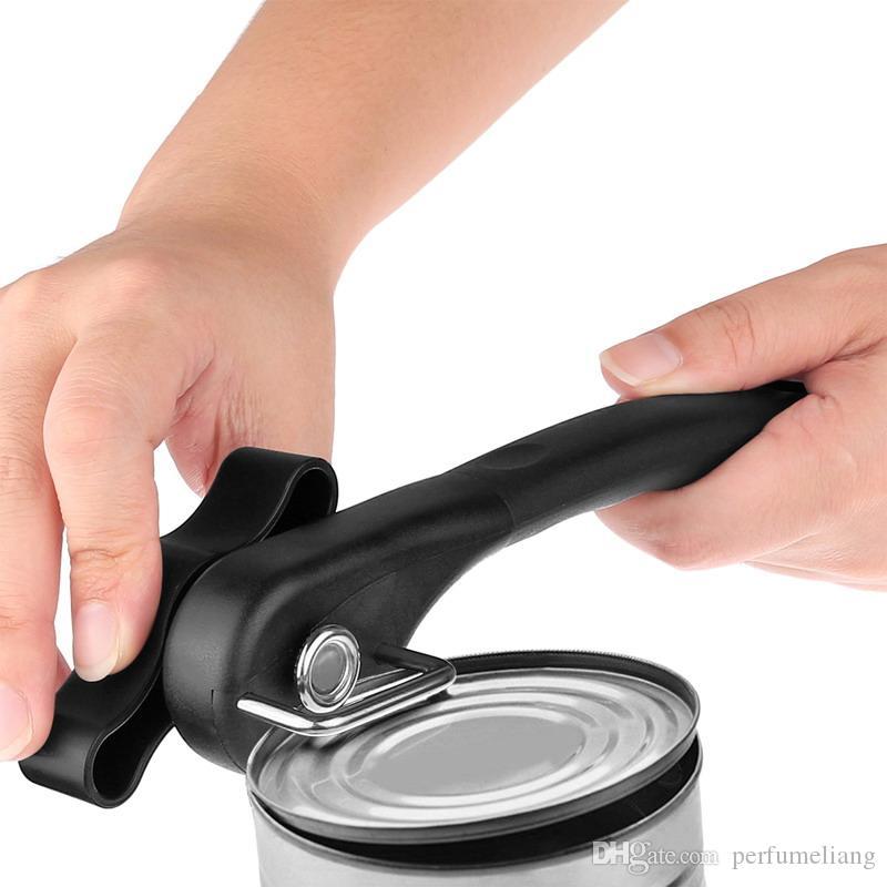 Multifunctionele Veiligheid Rvs Tin Kitchen CANS Opener Professionele Ergonomische Handleiding Kunnen Opener Side Cut Manual Can Opener S201703