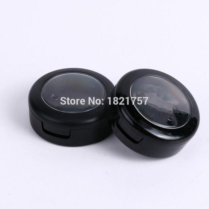 10g empty eyeshadow case with black rim lid 10ml powder cosmetic jars for containg eye shadow,10g cosmetic case