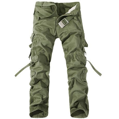 pantalons cargo pour les femmes Arrive Marque Hommes New Cargo Pantalons pour hommes Plus de poches zippées Pantalons plein air Taille Plus Salopette Pantalon Army