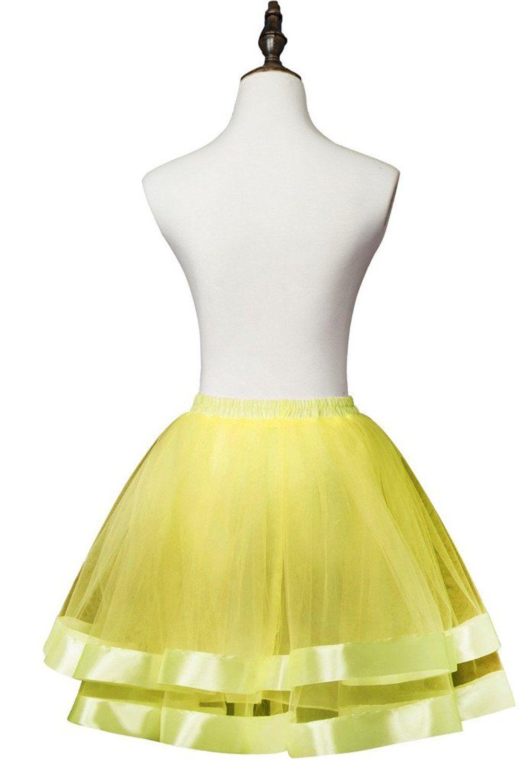 Nitree 1950 Short Vintage Petticoat Skirt Party Accessory Tutu