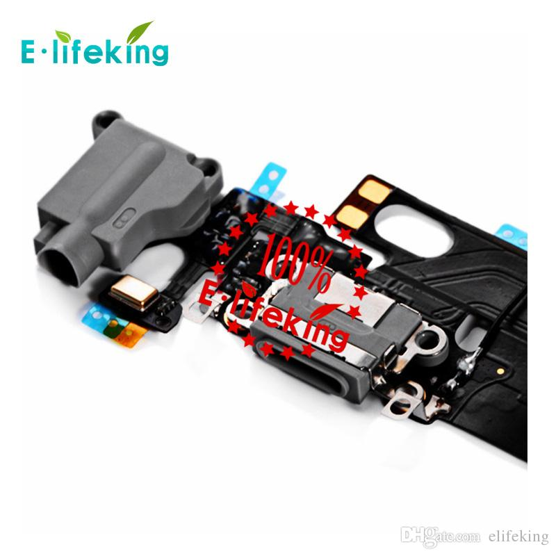 Dock Connector Charger For iPhone 6 6 Plus 6S 6s Plus Charging Port Flex Cable Ribbon Replacement with