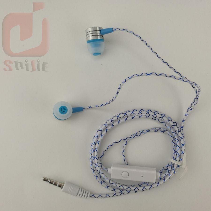 Cobwebbing Reticulate Fine Lines Kopfhörer mit Mikrofon Metallkopf Hörmuschel Noise Cancelling Kopfhörer mit Mikrofon 6 Farbe 500ps /