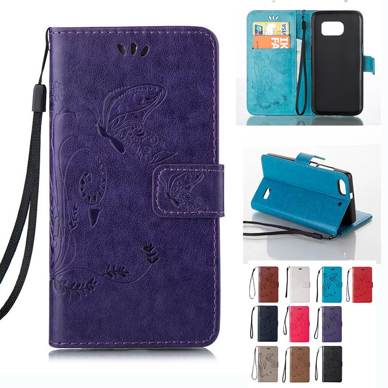 Leather Wallet Case Embossed Butterfly Holster Insert Cards Cover For Sumsung A9 S3 S4 S5 S6 J1 Mini J3 Pro J3 J5 J7 2017 J330 J530 J730