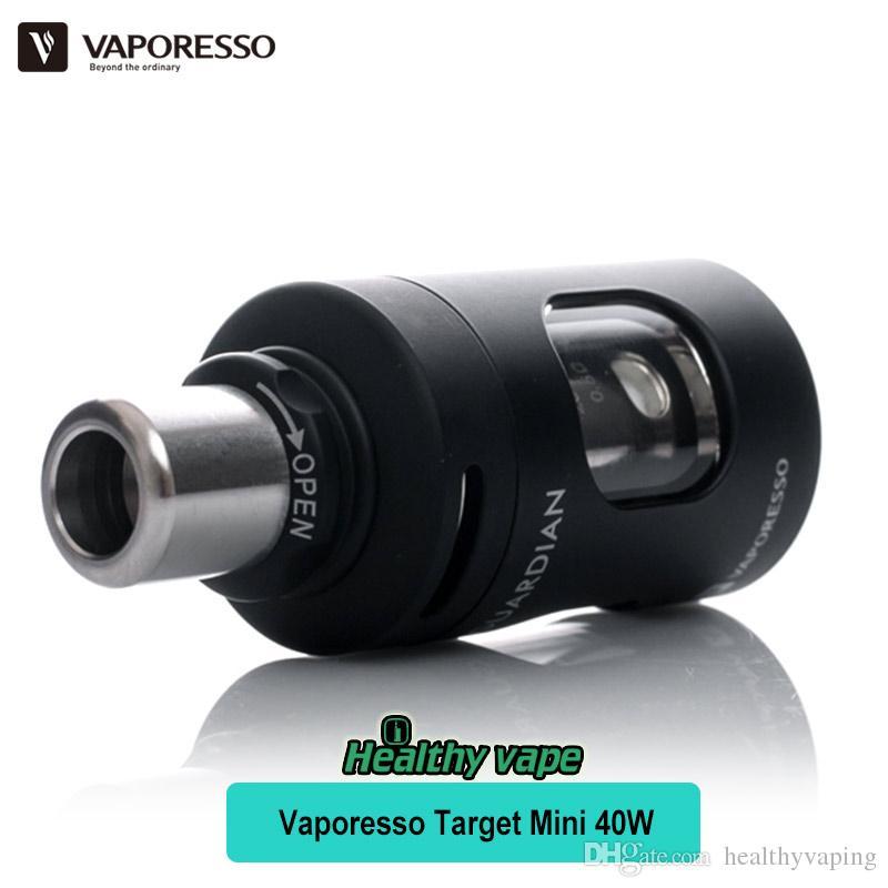 Original Vaporesso Target Mini Starter Kit 1400mAh Battery 40w Target Mini Mod Pink & 2.0ml E Cigarette Vape Atomizer