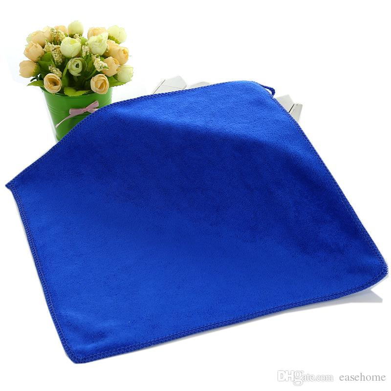 Microfiber cleaning cloth for home and car available size 30cm*30cm thicken water absorbing ablility