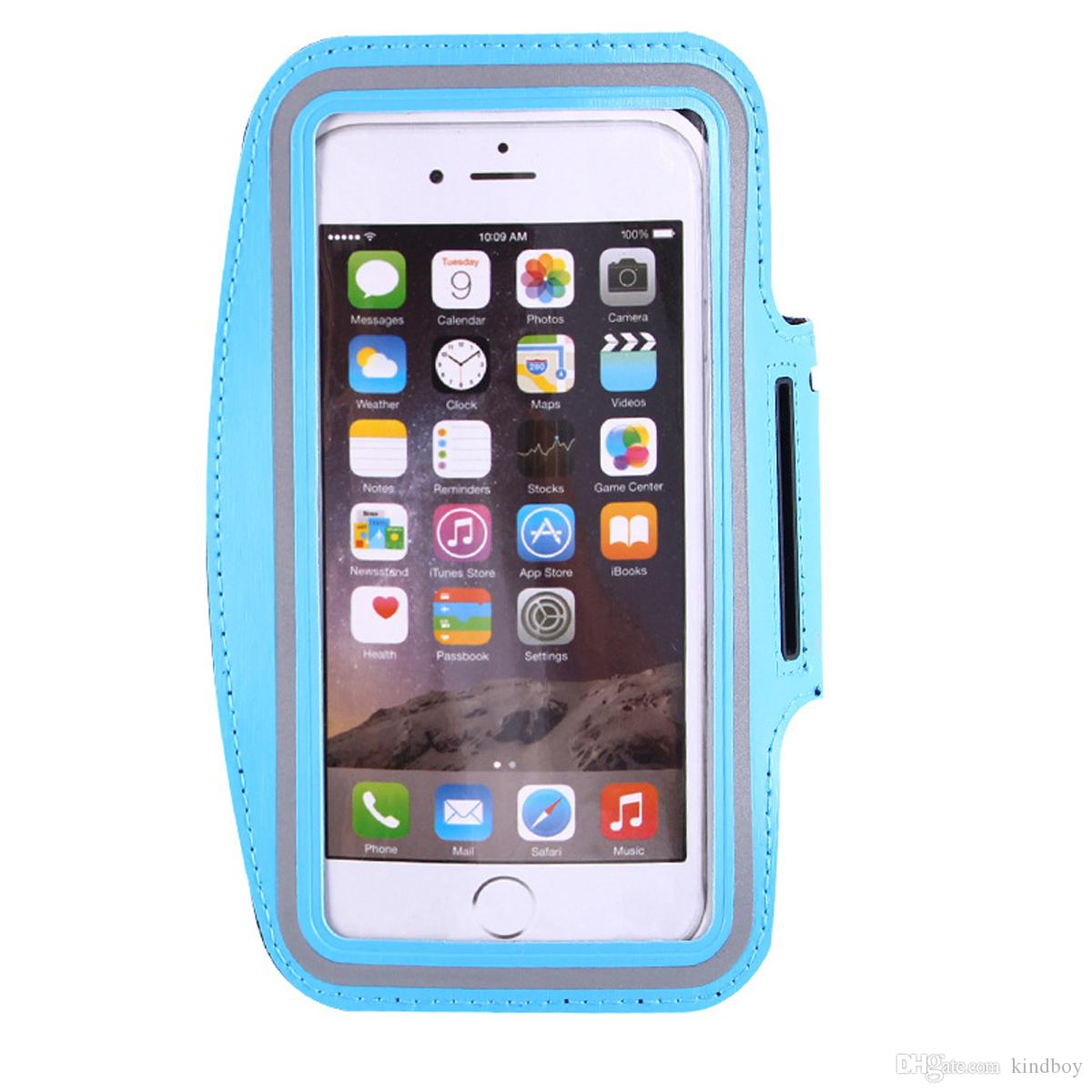 For Iphone 7 7plus Waterproof Sports Running Armband Case For iphone 6plus Workout Armband Holder Pounch For iphone 5S 6/6S from kindboy