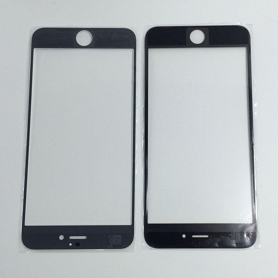 De haute qualité Nouveau remplacement pour iPhone 7 7plus 6 6S 6s, plus avant extérieur Lentille en verre pour iPhone4 4S 5C couverture de l'écran 5S