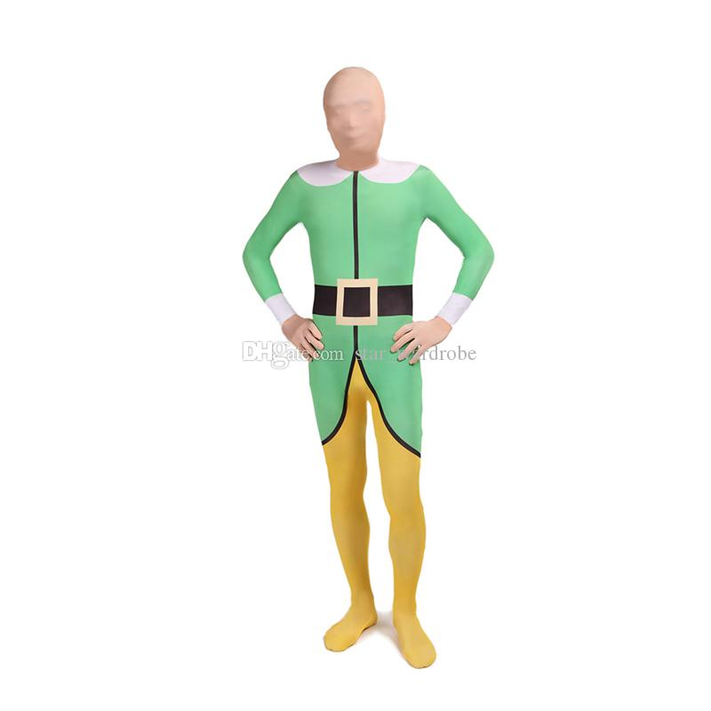 Halloween Poison Ivy Cosplay Costumes Lycra Spandex full Body Zentai Catsuit For Women