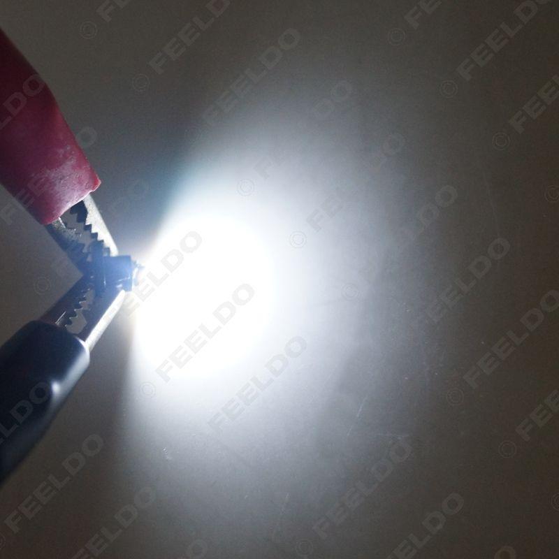 FEELDO DC12V T3 1210/3528 칩 1LED 자동차 대시 보드 미터 패널 전구 LED 전구 7 색 # 4448