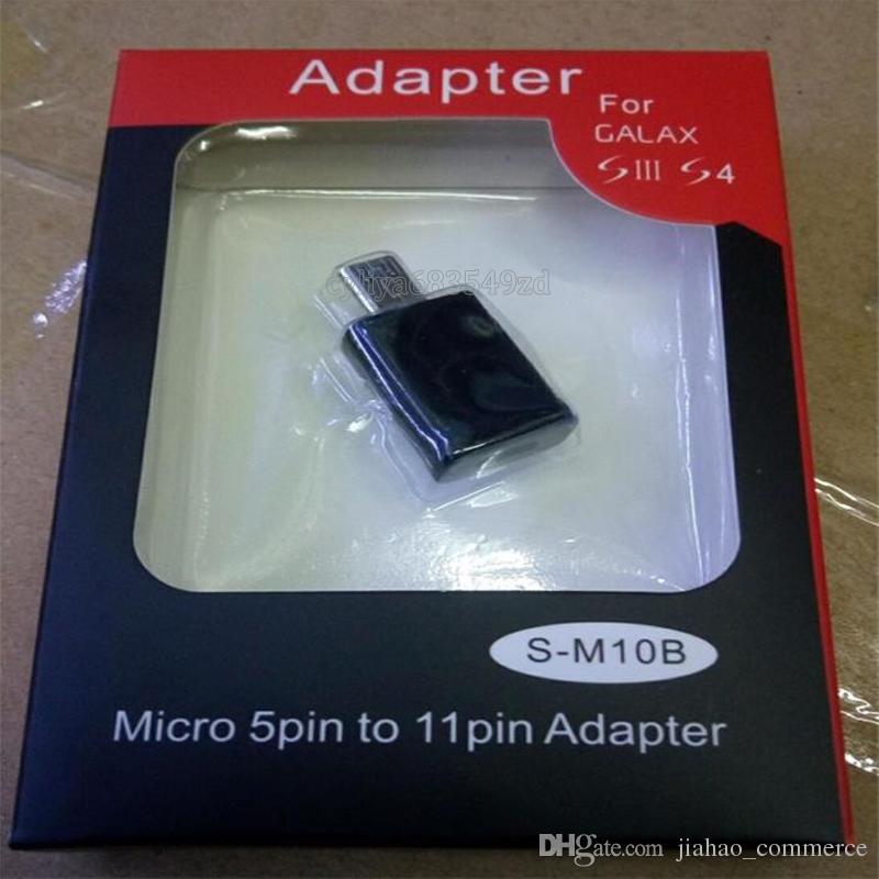 Beliebte 5 Pin Micro USB zu 11 Pin HDTV MHL HDMI Smart Adapter für Smartphone, Handy, Android Handy