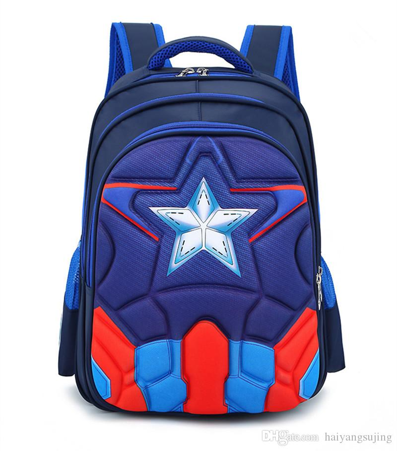 e13cefbe41 Fashion High Quality Oxford Children 3D Waterproof Schoolbag Backpacks  Brand Design Teenagers Best Students Travel sports School Bags