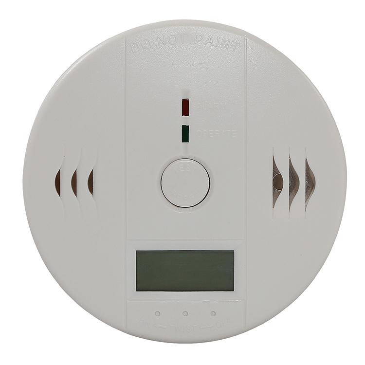 5p CO Kohlenmonoxid Tester Alarm Warnung Sensor Detektor Gas Brandvergiftung Detektoren LCD Display Sicherheitsüberwachung Sicherheit Alarmanlagen