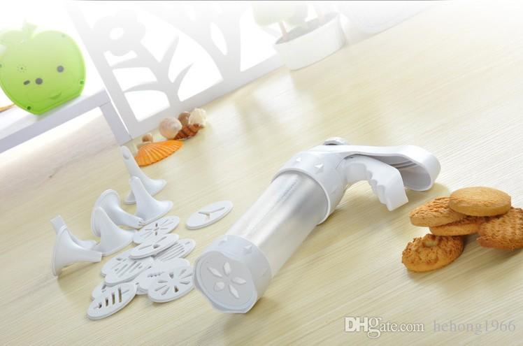 Cookie Mold Cream Nozzle Suit Baking Tool Biscuits Mould Butter Biscuit Extruder Shortbread Beurre Butters Tools 19 5zb R