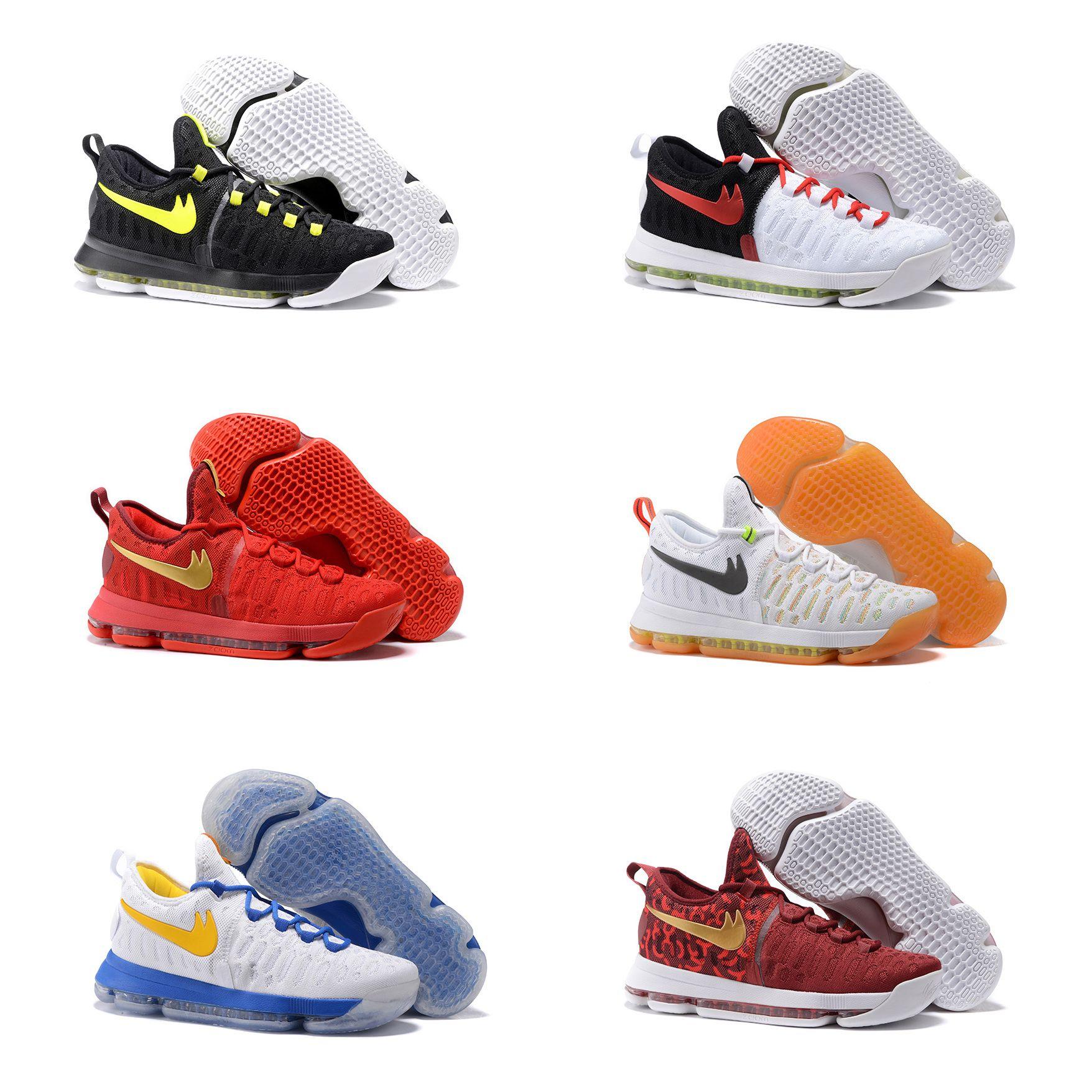 kd 9 shoe low cut