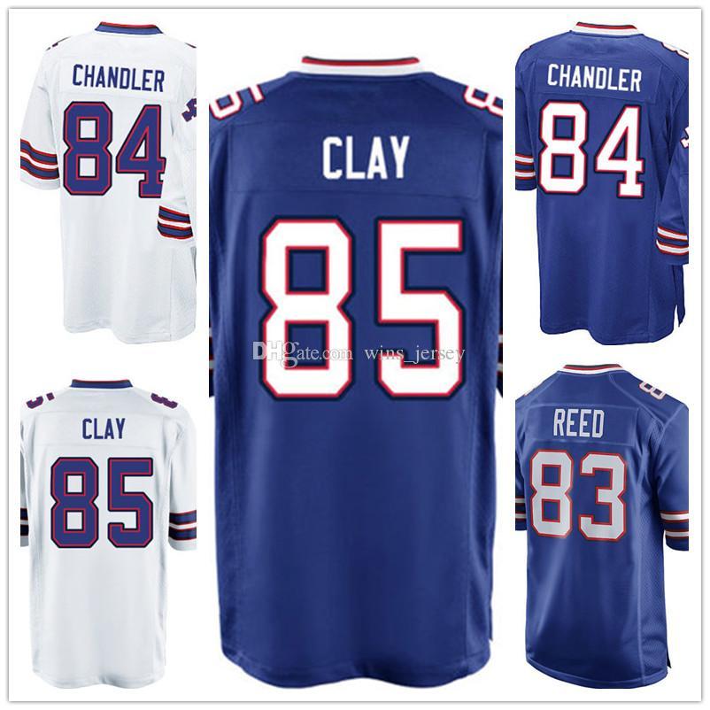 33488091b ... 2017 MenS Custom Jersey 83 Andre Reed 84 Scott Chandler 85 Charles Clay  Cheap Sale Top Mens Nike Buffalo Bills ...