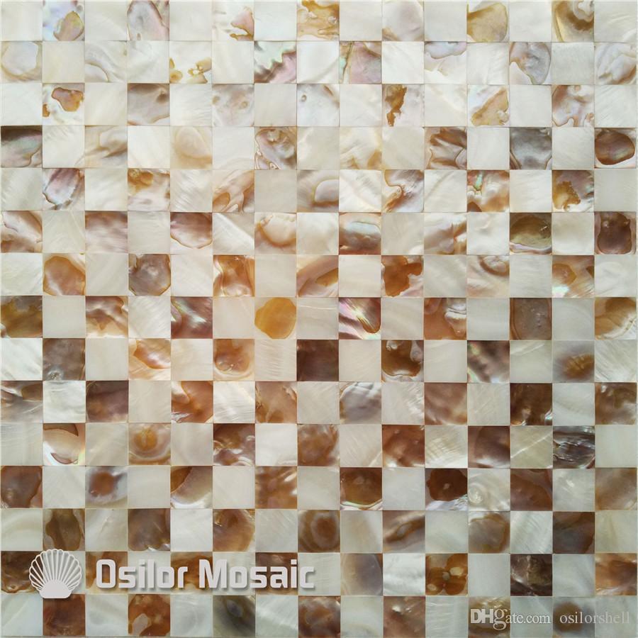 естественный цвет перламутровая мозаичная плитка для интерьера украшения дома кухня и ванная комната настенная плитка бесшовные плитки на сетке