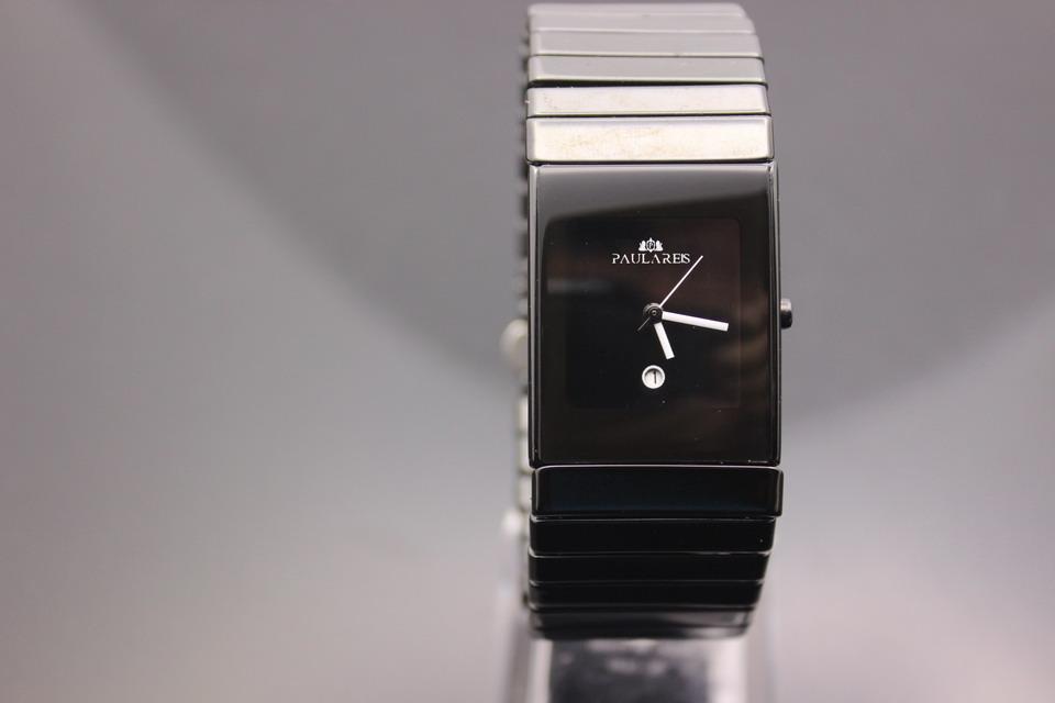 c09816407fca Compre Relojes Para Hombre De Primeras Marcas De Lujo De Cerámica Reloj De  Cuarzo Mujeres Square XL Vestido Relojes De Pulsera Amantes Reloj De  Calidad ...