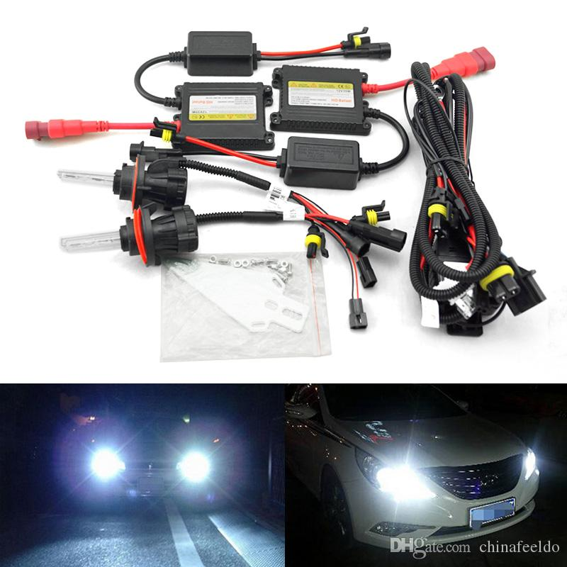 Hid Light Bulbs >> Leewa Car Headlight H13 Hid Xenon Bulb Hi Lo Beam Bi Xenon Bulb Light 35w Dc12v Slim Ballast Hid Kit 4531 Hid Lights Store Hid Lights Xenon From