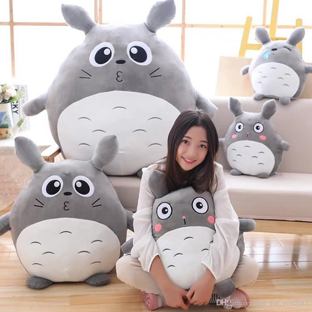 Japan Anime Totoro Plush Toy Giant 90cm Cute Cartoon Stuffed Totoro Doll  Kids Pillow Baby Bedroom Decoration UK 2019 From Just for you2017 5214b3c03f