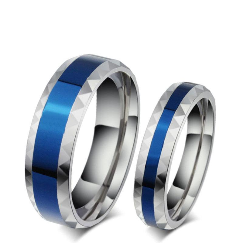 2018 316l Stainless Steel Finger Rings Men Wedding Band Jewelry