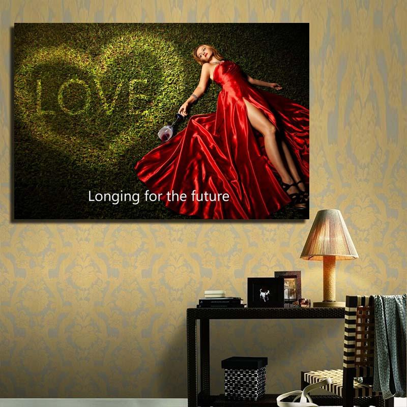 2018 Hot Selling Girls Sex Picture Wallpaper Ink Painting Home Decor ...