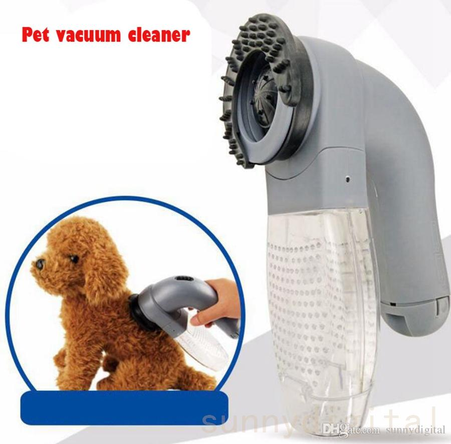 Smart Pet Vacuum Cleaner Electric Cat Dog Hair Fur Remover Animal Grooming Brush Trimmer Comb Beauty Tools