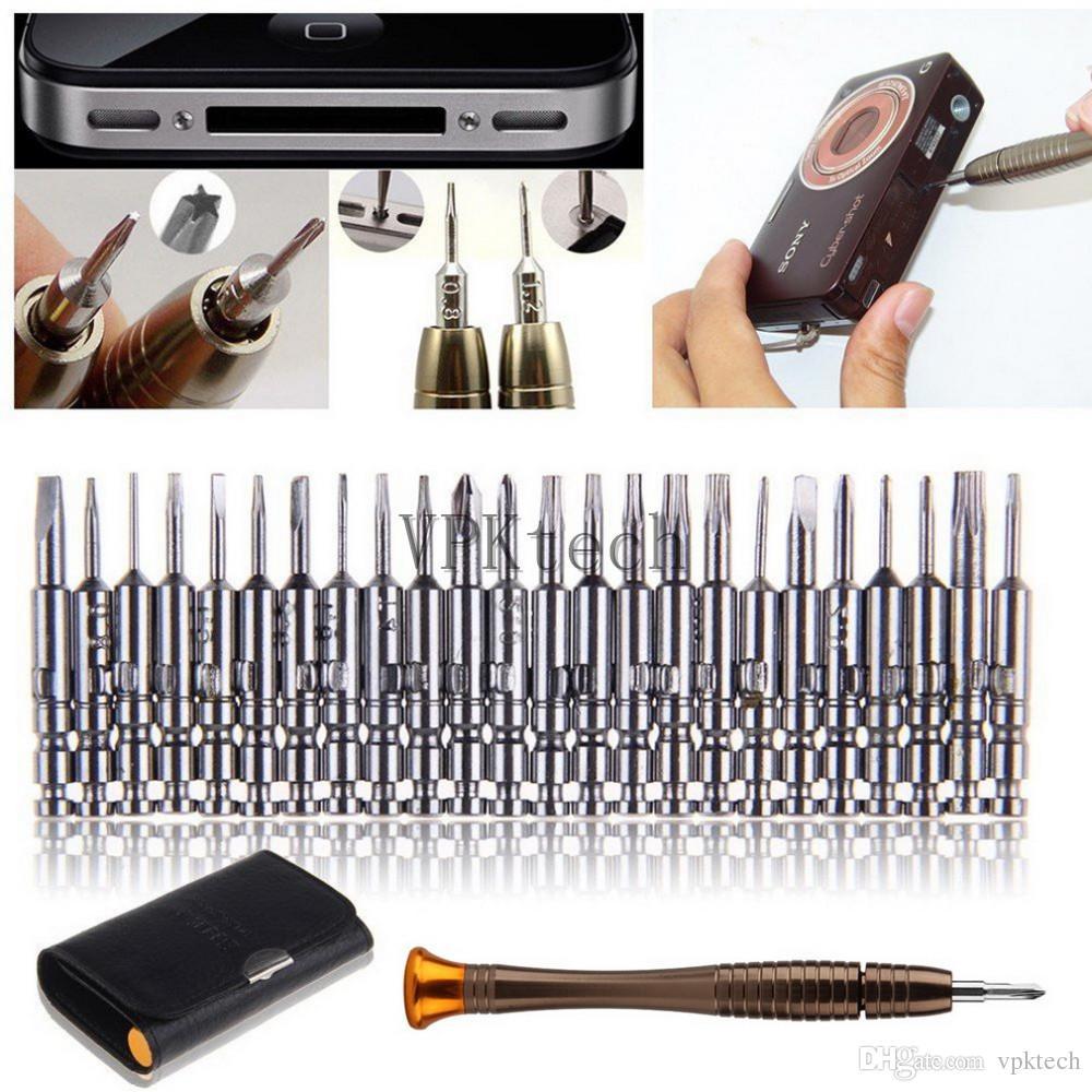 Mobile Phone Repair Tool Ferramentas 25 in 1 Torx Screwdriver Repair Tool Set For iPhone Cellphone Tablet PC torx t2 tools