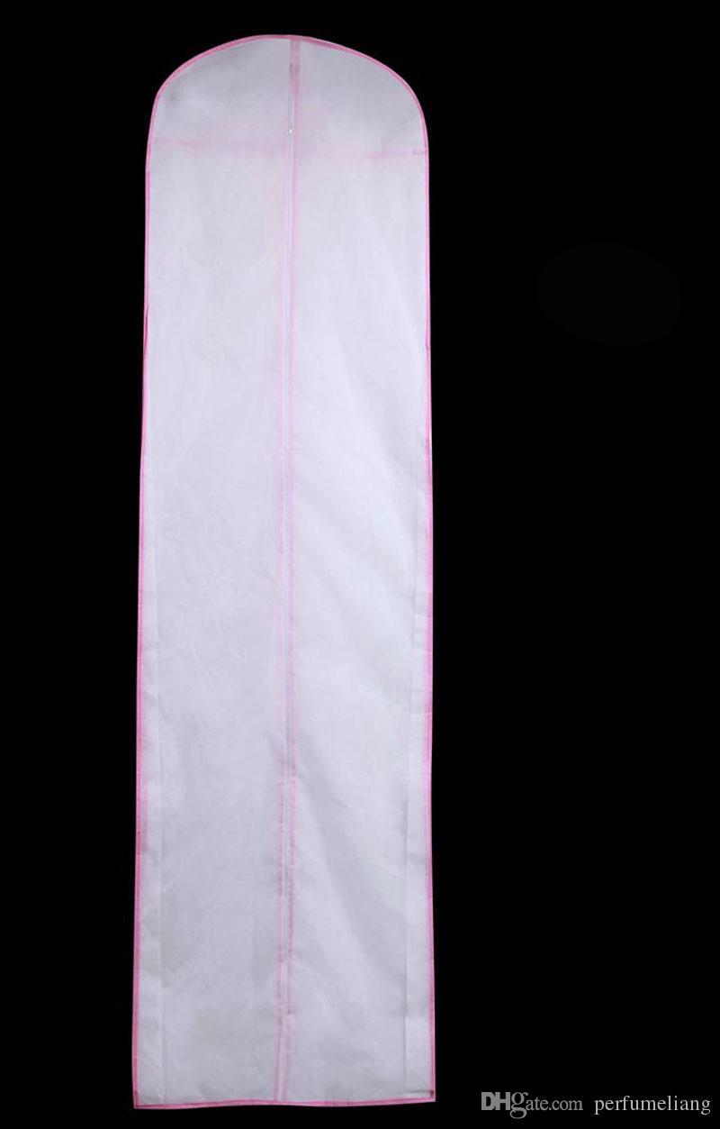 180cm Non-woven Bridal Gown Formal Dress Evening Wedding Dresses Dust Cap Bag Garment Clothing Storage Cover ZA4230