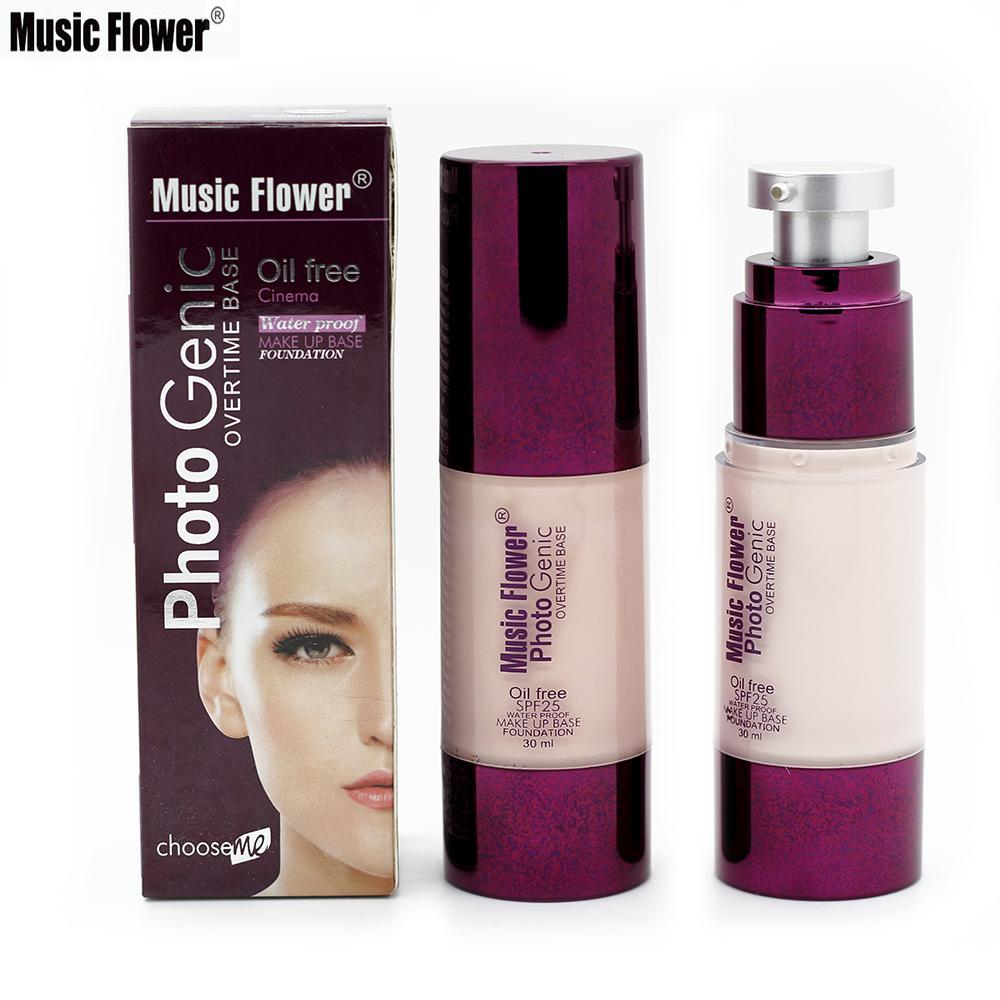 Wholesale brand music flower new 30ml liquid foundation makeup wholesale brand music flower new 30ml liquid foundation makeup waterproof concealer foundation make up base face cream cosmetic spf25 rockefeller foundation izmirmasajfo