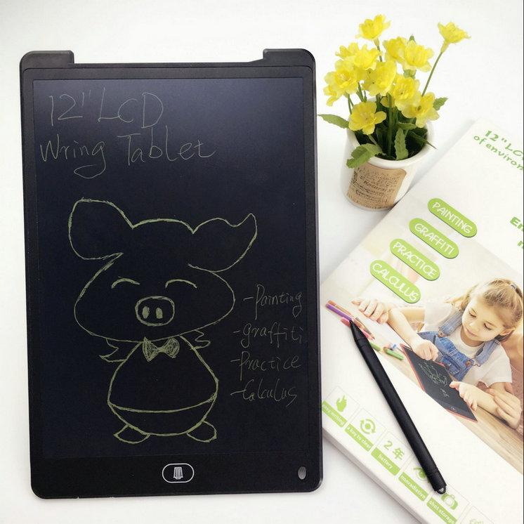 12 Inch E-writing Board Handwriting Pad Writing Tablet Erase Drawing Toys Portable Tablet Board ePaper for Adults Children