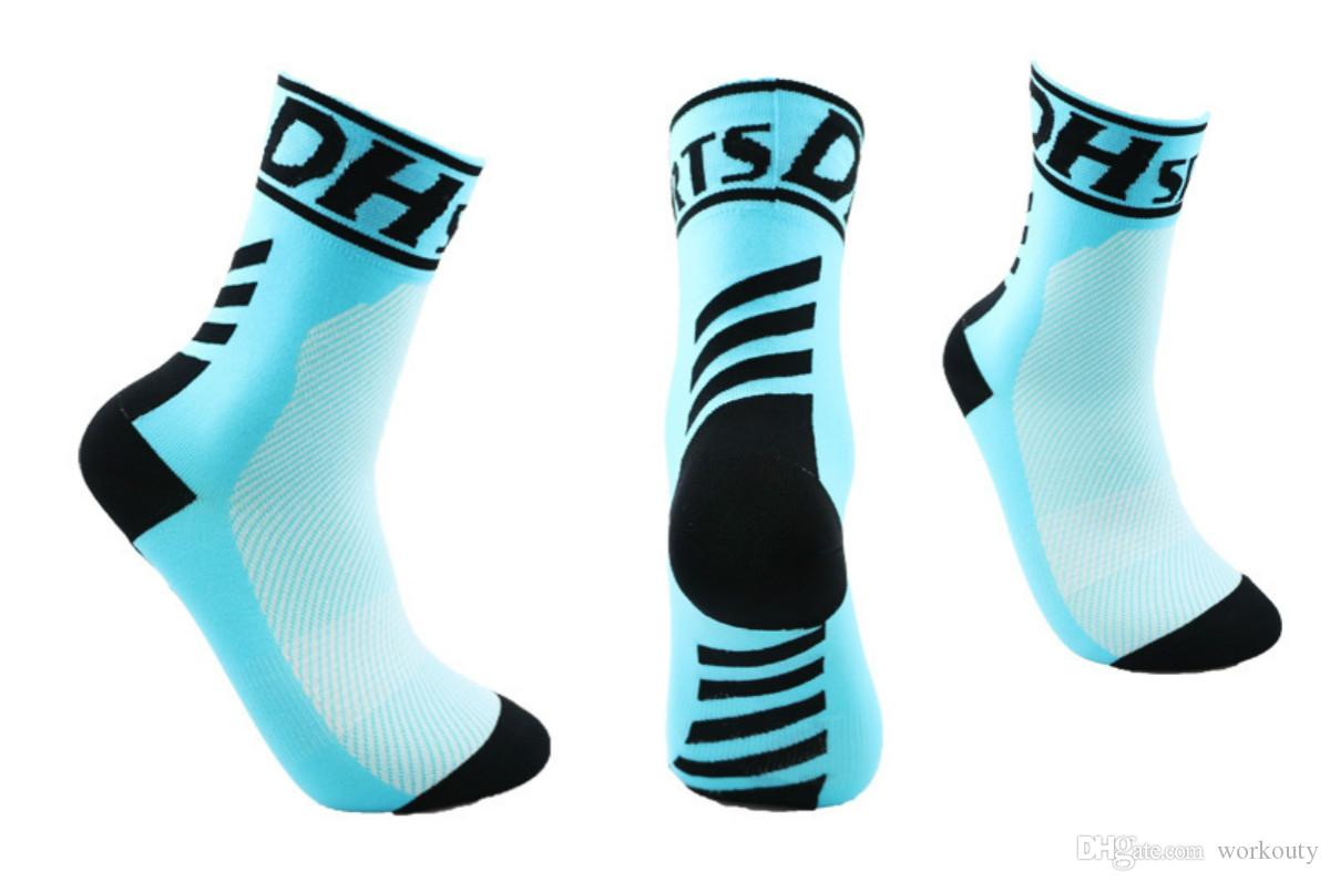 New Arrival Compression Sports Socks Full Cushion Athletic Socks for Running/ Basketball/ Football/ Cycling/ Jogging/ Hiking