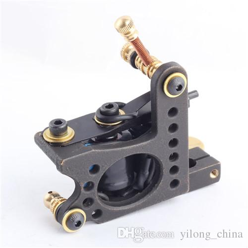 Professional Copper Tattoo Machine Liner Gun Classic Frame Carbon Steel For Shader and Liner