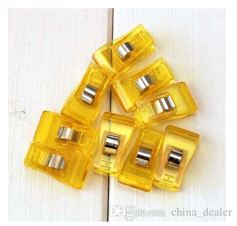 clover wonder clips PVC Plastic Clips For Patchwork Sewing DIY Crafts, Quilt Quilting Clip 3.5*1.8CM