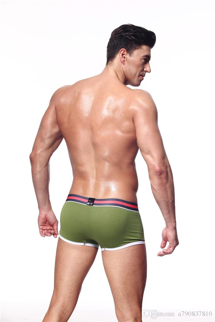 / conçu taille basse sexy coton modal hommes sous-vêtements / boxeurs gaie pénis gay Wonderjock Mens Slip M-XXL livraison gratuite NS008