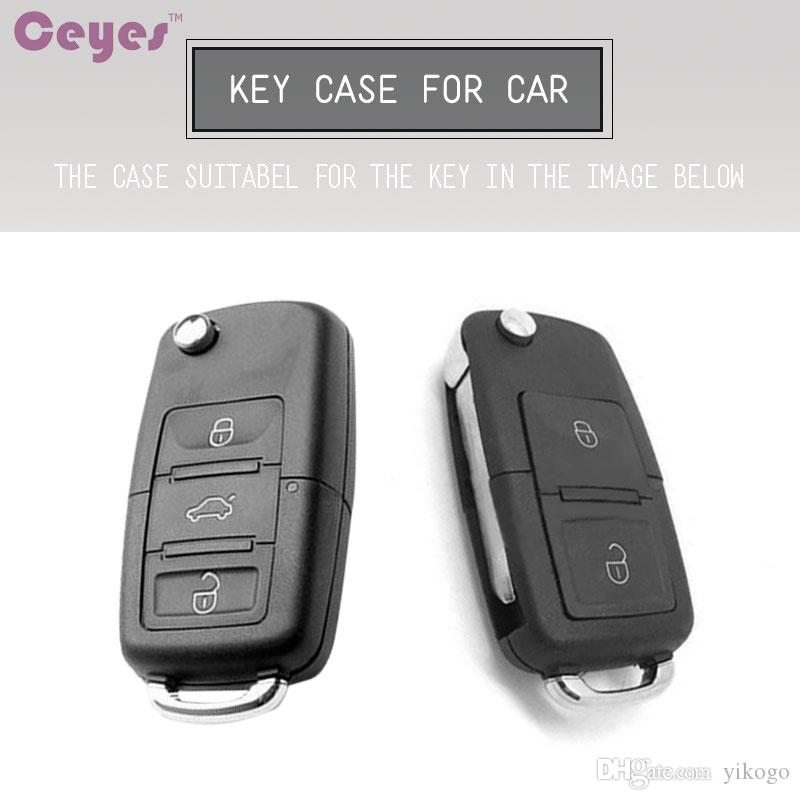 TPU Soft car key cover for Volkswagen Golf MK4 Bora Polo Passat Jetta car key shell remote cover car styling
