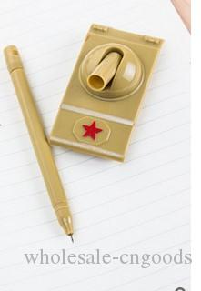 Manufacturer's direct selling creative new and strange stationery and new tank modeling pen with neutral pen