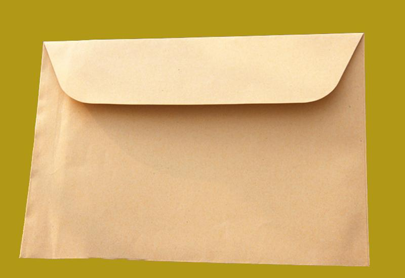 Wholesale a4 size 325cmx23cm kraft sticks paper big envelope for wholesale a4 size 325cmx23cm kraft sticks paper big envelope for greeting card cover photo case party invitation card package mail birthday cards mail m4hsunfo