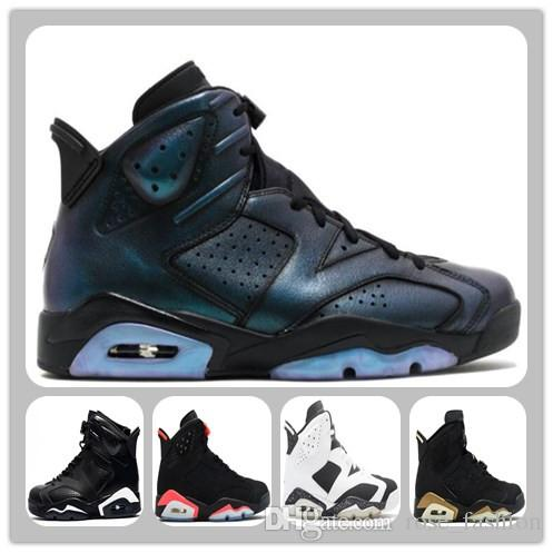 6 VI Black Infrared Alternate All Star Maroon Black Cat Carmine Basketball  Shoes VI 6s Men Sports Shoes Athletics Footwear Boots with Box Mens Sports  Shoes ...