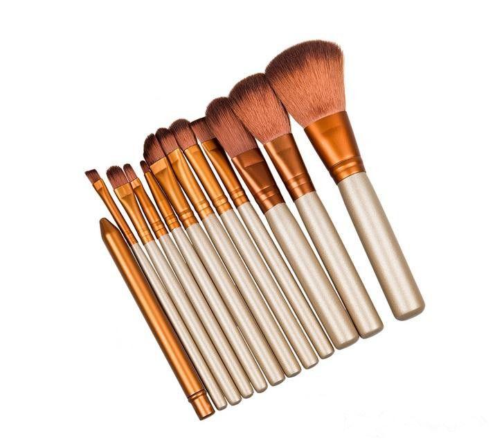 Hot makeup brush NUDE 3 Makeup Brush kit Sets for eyeshadow blusher Cosmetic Brushes TooL DHL