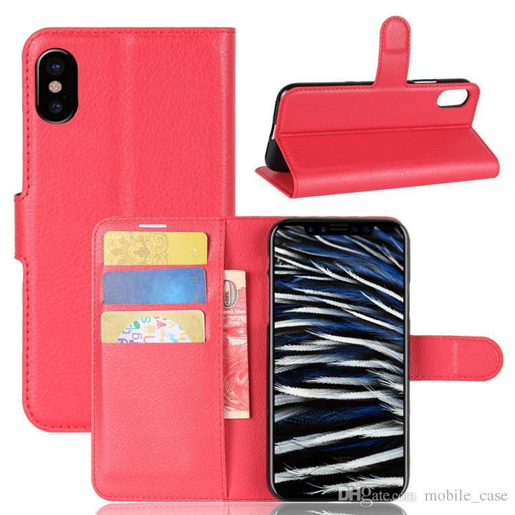 Coque iPhone XS Style black Étui iphone MAX PU cuir verre couverture mode femmes hommes étuis samsung S8 S9 S10 Lite