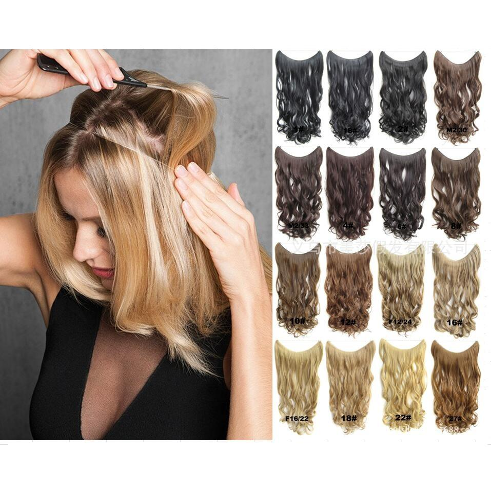 Online Cheap Perfect Halo Lady Hair Braider Flip Hair Extensions