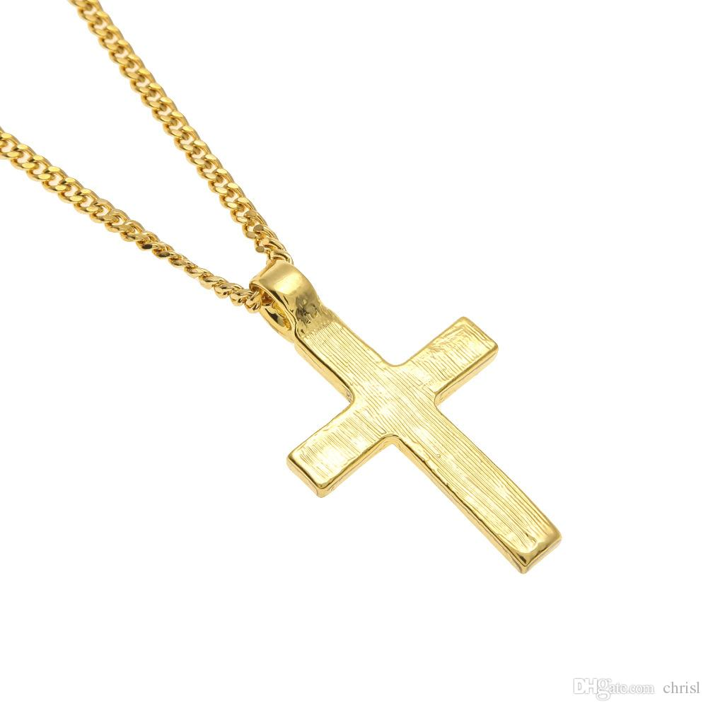 Çapraz Kolye Kolye Gül Altın Renk Avusturya Kristal Pave Ayarı Zinciri Ile Çinko Alaşım Kolye Toptan