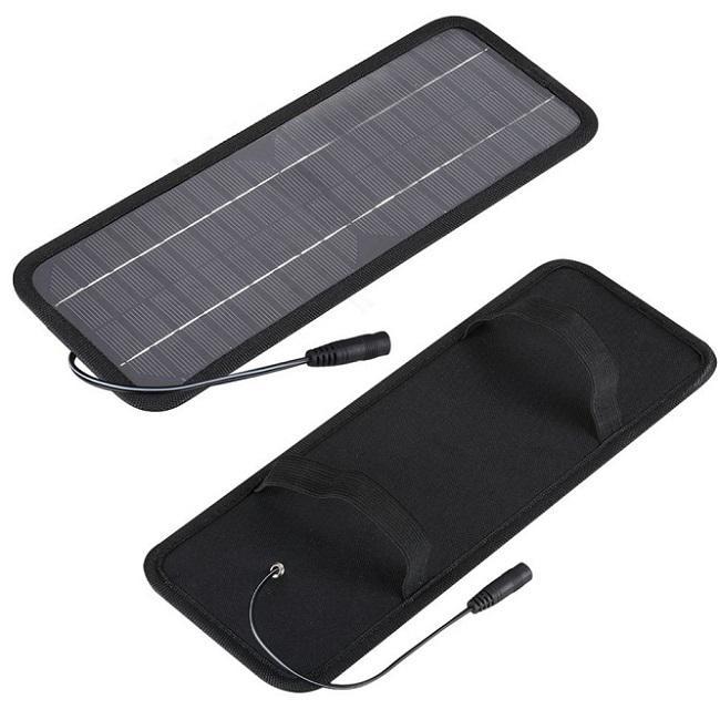 Varmförsäljning! 4.5W 12V Solor Batteriladdare för bilar Båt Motorcykel etc Solar Batterum med billaddare Gratis frakt
