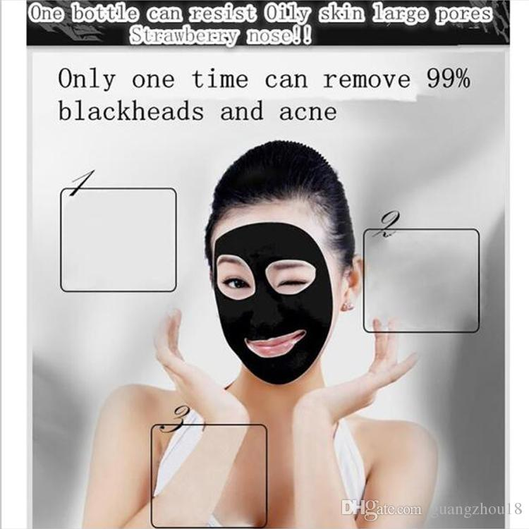 2017 AFY suction Black mask nose remover deep cleansing face mask face care nature Pore Cleaner black mud mask 60g